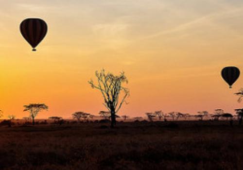 balloon safari tanzania